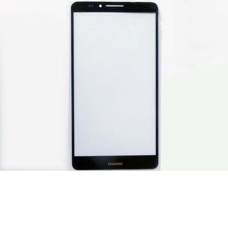 Cristal Ventana Gorilla Glass Blanco Huawei Ascend Mate 7 - Negra