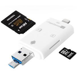 UNIDAD USB DE TRANFERENCIA Y EXPANSIÓN DE DATOS PARA IOS / PC