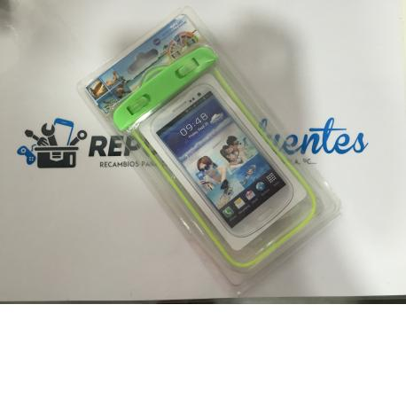 FUNDA IMPERMEABLE / AQUATICA UNIVERSAL PARA MOVILES - VERDE