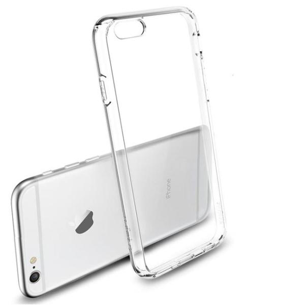 FUNDA DE SILICONA PARA EL IPHONE 6 - TRANSPARENTE