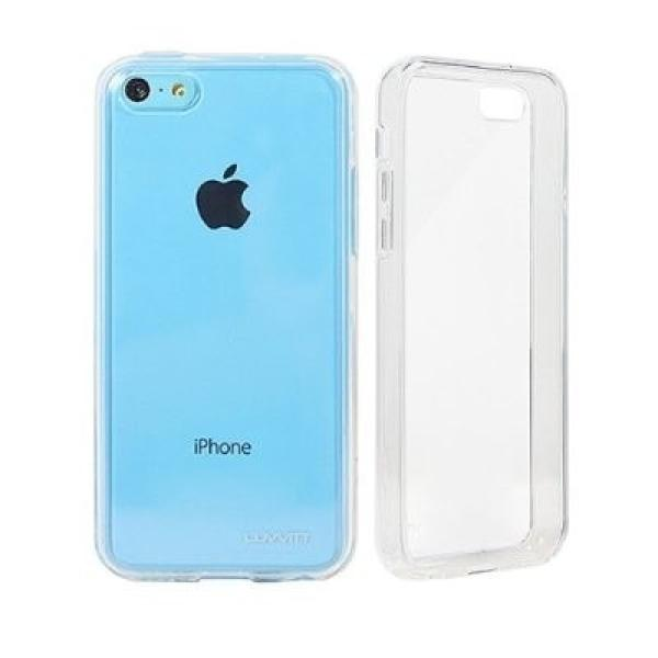 FUNDA DE SILICONA PARA EL IPHONE 5C TPU CASE - TRANSPARENTE