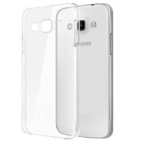 Funda de silicona para el Samsung J1 TPU Case - Transparente