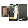 PANTALLA LCD DISPLAY + TACTIL CON MARCO BLACKBERRY Z10 3G (15PIN 001/111) - NEGRA
