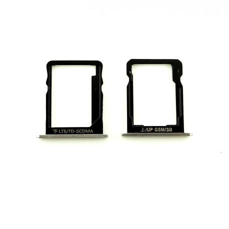 Bandeja de Tarjeta SIM y MicroSD para Huawei Ascend P7 - Blanca
