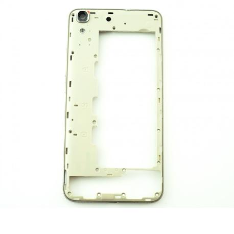 Carcasa Intermedia con Lente para Huawei Y6 4G / Honor 4A - Blanca