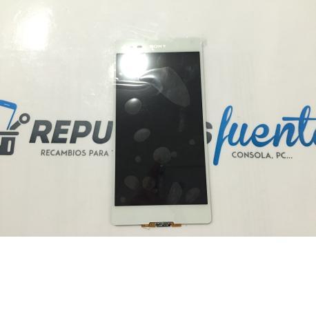 Pantalla Lcd + Tactil Sony Xperia T2 ultra D5303 Blanco