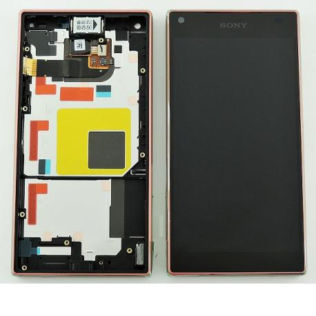 PANTALLA LCD DISPLAY + TACTIL CON MARCO ORIGINAL PARA SONY Z5 COMPACT E5823 - COBRE