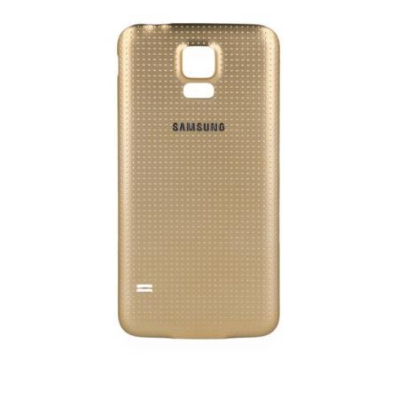 Carcasa Tapa Trasera de Bateria Original para Samsung Galaxy S5 i9600 SM-G900F - Oro