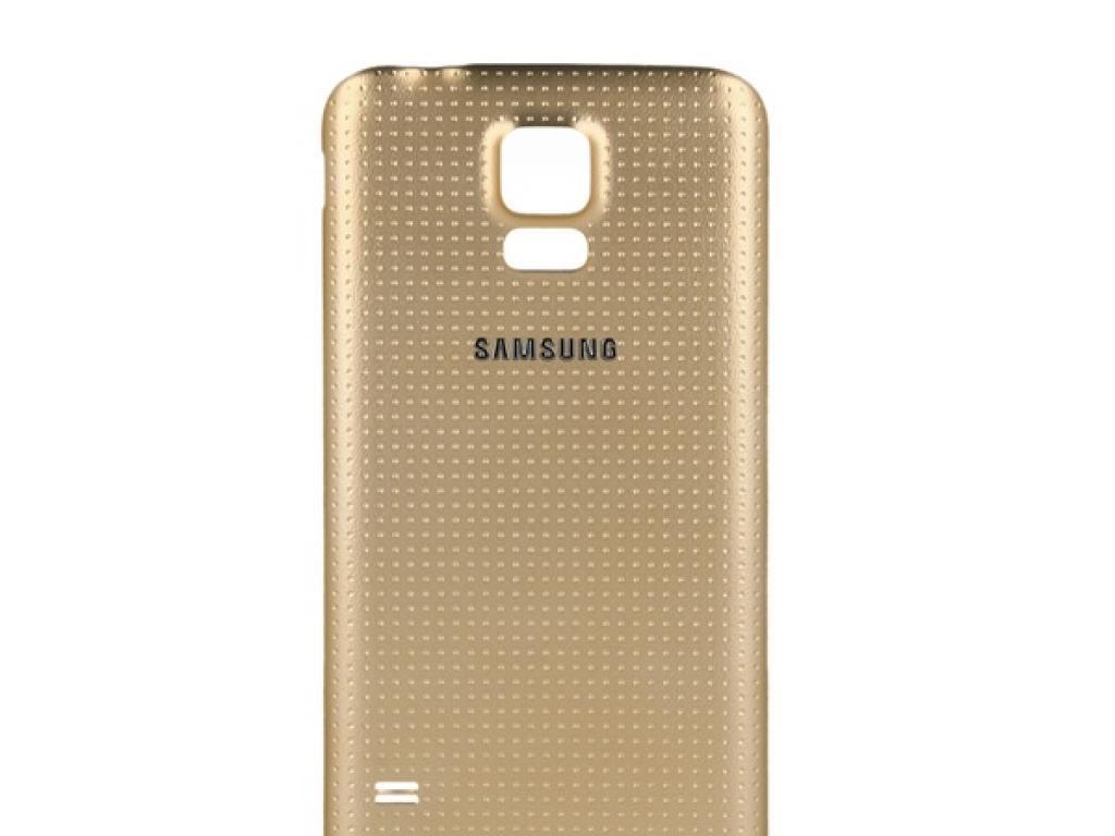 carcasa dorada samsung galaxy s5