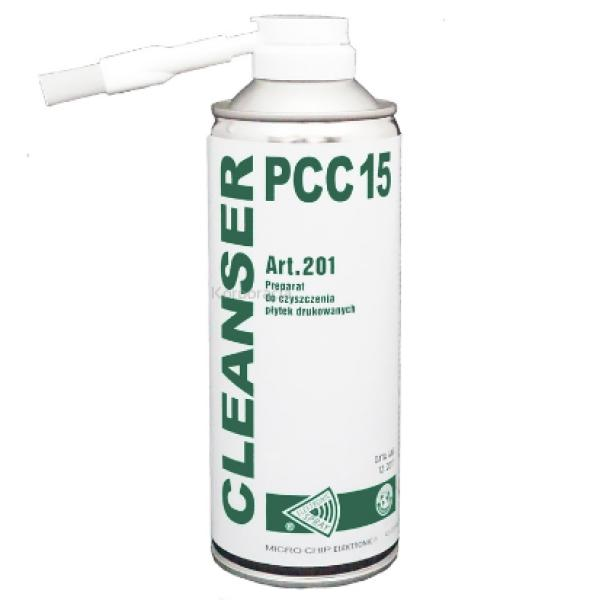 CLEANSER PCC 15 400ML - LIMPIADOR DE PLACAS, DE RESTOS DE SOLDADURA