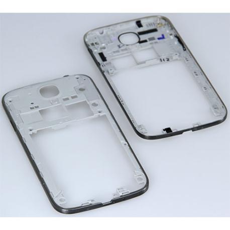 Carcasa Intermedia con Lente de Camara y Botones Laterales Original para Samsung S4 i9505 - Edicion Especial Negra