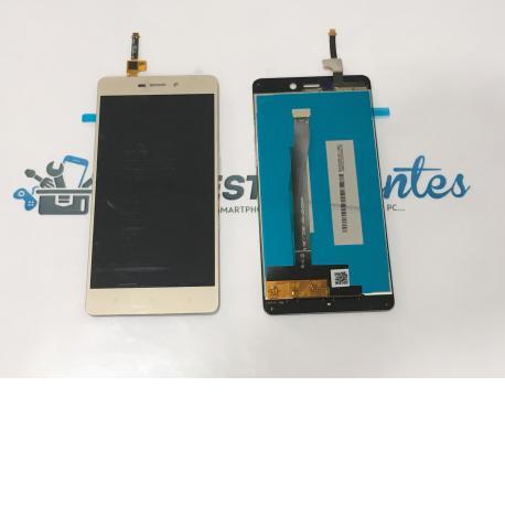 Pantalla Tactil + LCD Display para Xiaomi Red Rice 3, Redmi 3 - Oro