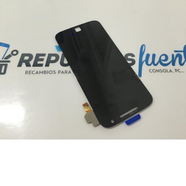 REPUESTO PANTALLA LCD DISPLAY + TACTIL MOTOROLA MOTO G4 PLUS 2016 - NEGRA