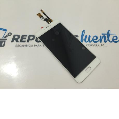 Repuesto Pantalla Lcd Display + Tactil Meizu M3 Note (Version lcd FPC5512-21) - Blanco
