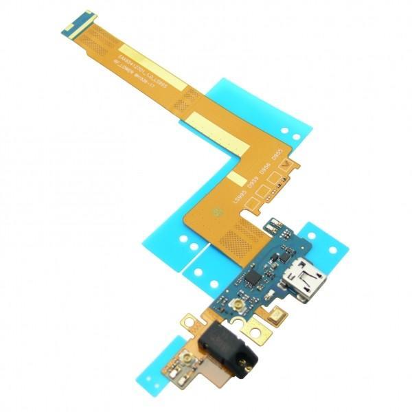 FLEX CONECTOR DE CARGA MICRO USB, JACK DE AUDIO Y MICROFONO PARA LG D955, D950, D958 G FLEX