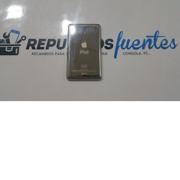 TAPA TRASERA IPOD 5 CLASSIC PLATA - RECUPERADA