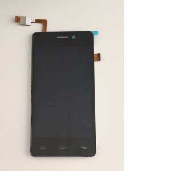 REPUESTO PANTALLA LCD +TACTIL BQ AQUARIS E4 NEGRA REPARADA