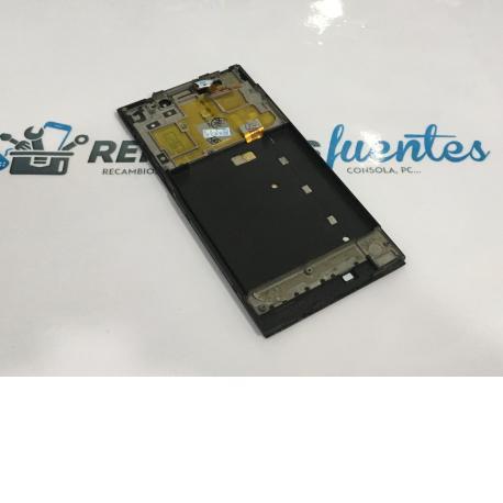 PANTALLA LCD DISPLAY + TACTIL CON MARCO PARA XIAOMI MIUI MI3 - NEGRO / VERSIÓN WCDMA