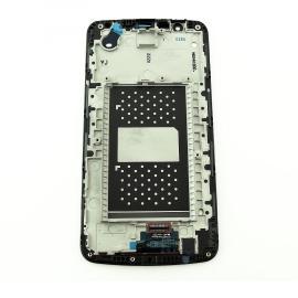 PANTALLA LCD DISPLAY + TACTIL CON MARCO ORIGINAL PARA LG K10 K420N - NEGRA