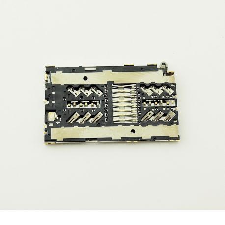 LECTOR DE TARJETA SIM Y MICRO SD PARA SAMSUNG SM-G930F GALAXY S7, SM-G935F GALAXY S7 EDGE