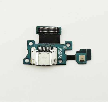 Flex de Carga Micro USB y Microfono para Samsung T705 Galaxy Tab S 8.4