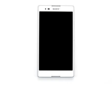 Pantalla Lcd + Tactil con marco para Sony Xperia T2 Ultra D5303 Blanca