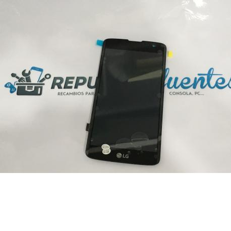 PANTALLA LCD DISPLAY + TACTIL ORIGINAL PARA LG X210 K7 - NEGRA