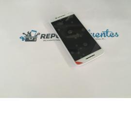 PANTALLA TACTIL + LCD DISPLAY CON MARCO PARA MOTOROLA X PLAY X3 XT1562 XT1563 - BLANCO