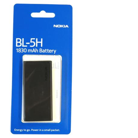Bateria Original para Nokia Lumia 630 635 / BL-5H/ 1830mAh (Blister)