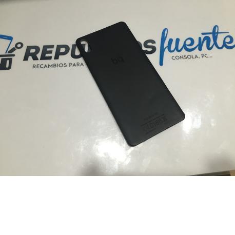 Carcasa Tapa Trasera Original Bq Aquaris X5 - Recuperada - Negra