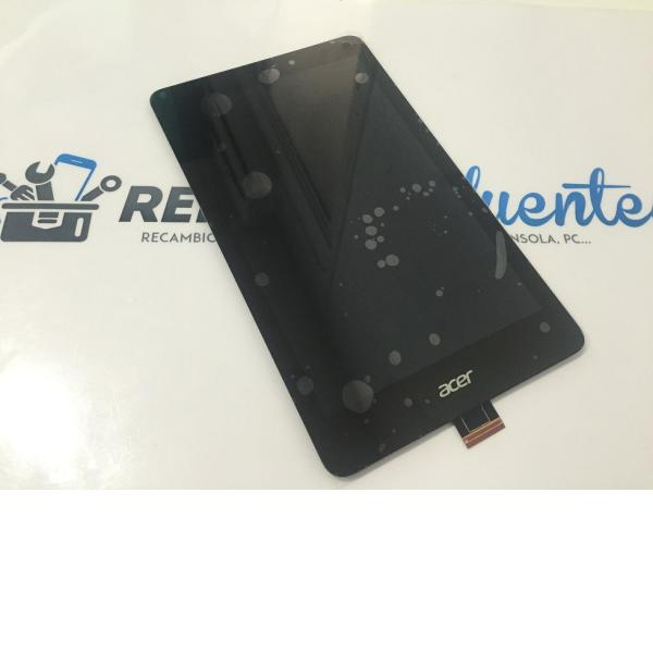 REPUESTO PANTALLA LCD DISPLAY + TACTIL ACE TAB 8 A1-840 - NEGRA