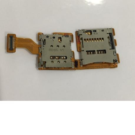 FLEX DE LECTOR TARJETA SIM Y MICROSD PARA HTC ONE A9