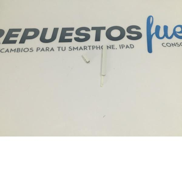 BOTONES VOLUMEN + ENCENDIDO TAPA TRASERA HTC DESIRE 610 BLANCO - RECUPERADO