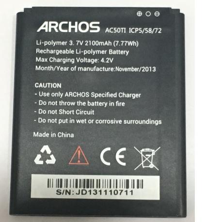 BATERIA ORIGINAL AC50TI ICP5/58/72 PARA ARCHOS50 TITANIUM DE 2100MAH - RECUPERADA