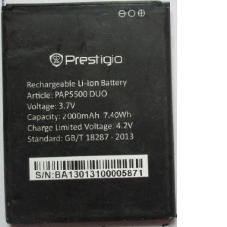 Bateria Original para Prestigio PAP5500 Duo de 2000mAh - Recuperada