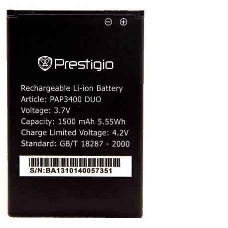 Bateria Original para Prestigio PAP3400 DUO de 1500mAh - Recuperada