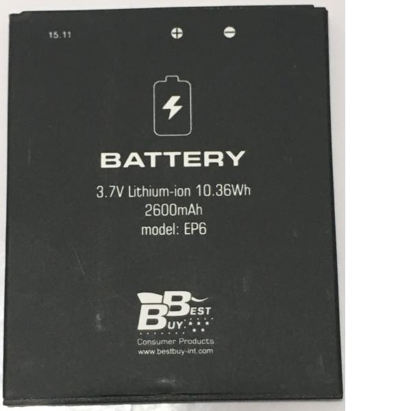 BATERIA EP6 ORIGINAL PARA BEST BUY EASY PHONE 6 DE 2600MHA - RECUPERADA
