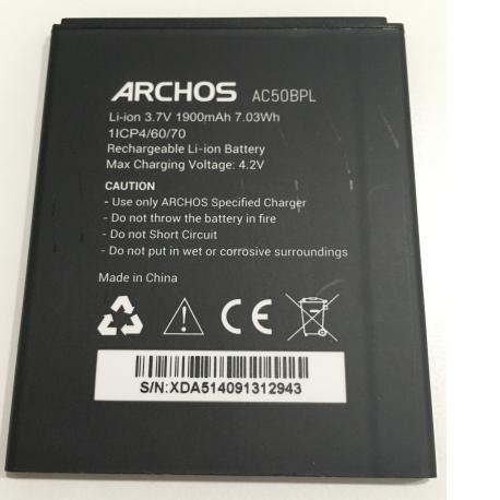 Bateria AC50BPL Original para Archos 50B Platinum de 1900mAh - Recuperada