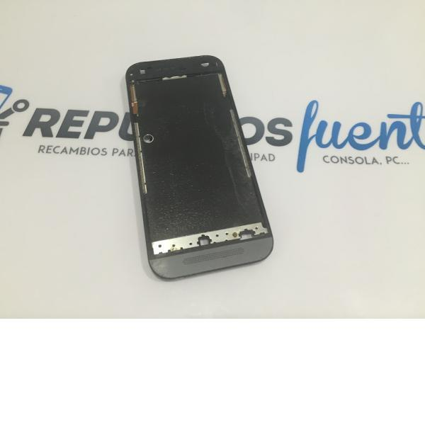 CARCASA FRONTAL LCD + TACTIL PARA HTC ONE MINI 2 - RECUPERADA