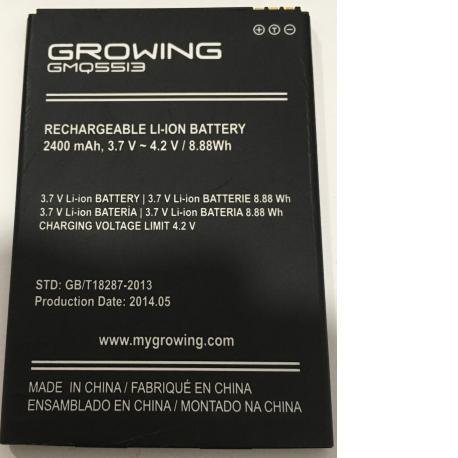 BATERIA ORIGINAL GMQ5513 PARA GROWING FALCON DE GMQ5513 DE 2400MAH - RECUPERADA
