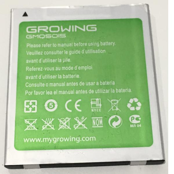 BATERIA GMQ5015 ORIGINAL PARA GROWING TIGER DE 2200MAH - RECUPERADA