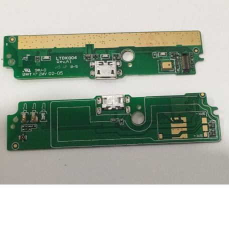 FLEX DE CARGA MICRO USB Y MICROFONO PARA XIAOMI RED RICE NOTE 3G
