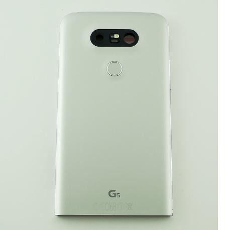 Carcasa Tapa Trasera de Bateria Original para LG H850 G5 - Plata