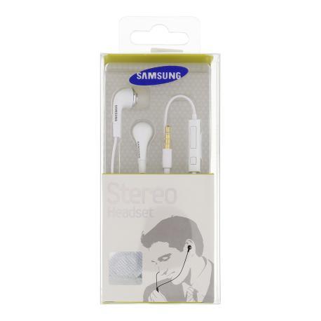 Auriculares Manos Libres EHS64AVFWE Original para Moviles Samsung - Blanco (Blister)