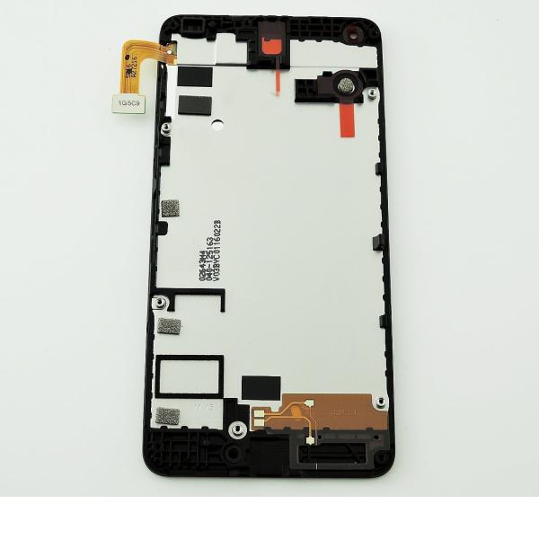 PANTALLA TACTIL + LCD DISPLAY ORIGINAL PARA MICROSOFT LUMIA 550 - NEGRA