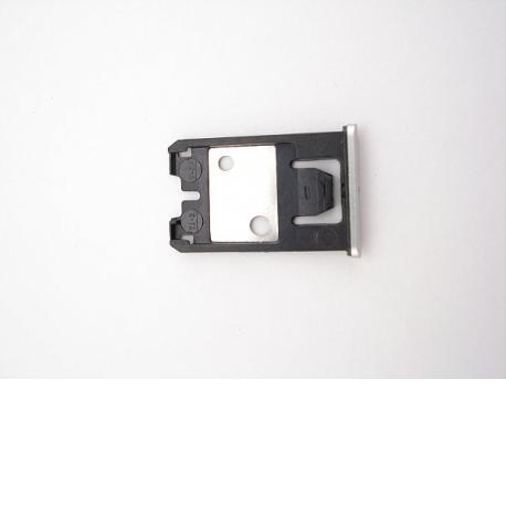 Bandeja de Tarjeta SIM Original para Nokia Lumia 925 - Plata