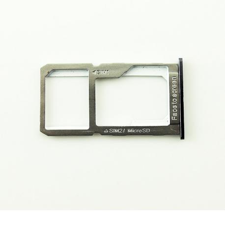 Bandeja de Tarjeta SIM y SD para Oneplus X - Negra