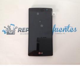 PANTALLA LCD + TACTIL + MARCO ORIGINAL PARA LG MAGNA H500F NEGRA - RECUPERADA