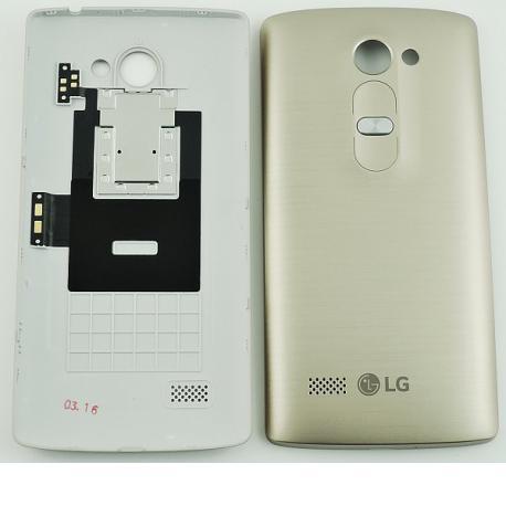 Carcasa Tapa Trasera de Bateria Original para LG Leon H340N - Oro