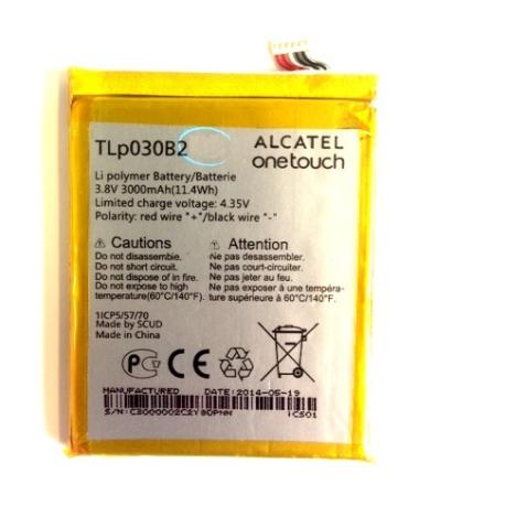 BATERIA ORIGINAL ALCATEL POP S7 OT-7045 , VODAFONE 985N SMART 4 POWER - RECUPERADA